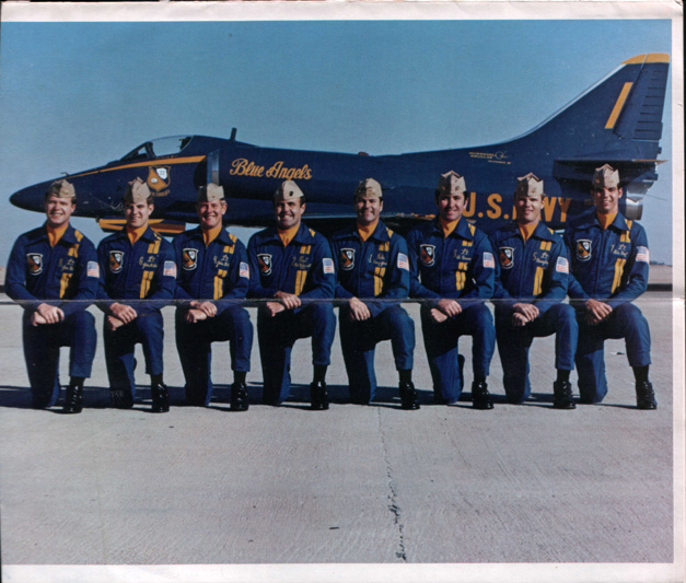 US Navy Blue Angels The Sprit of the Navy 1976 Air Show